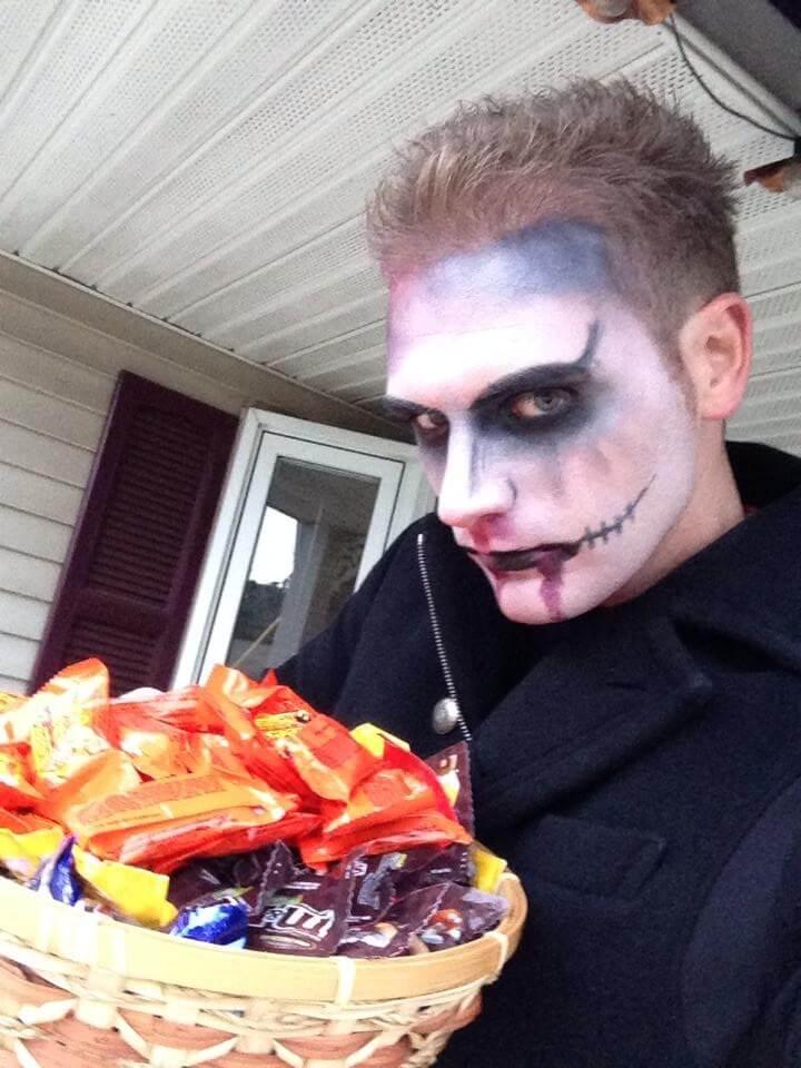 kyo york hoa trang halloween