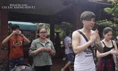 """Behind The Scenes """"Cái Xác Không Hồn 2"""" - Lâm Chấn Khang, Kim Jun See"""