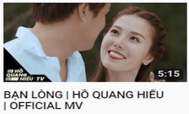 Bạn Lòng - Hồ Quang Hiếu (MV Official)