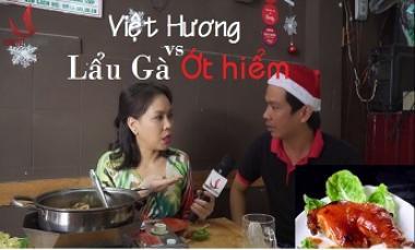 Việt Hương Và Lẩu Gà Ớt Hiểm